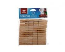 Sada dřevěných kolíčků, 48 ks