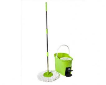 BRILANZ Mop set TORNADO, zelený