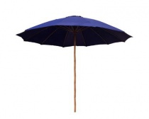 Slunečník bambusový 300 cm, dark blue