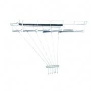 sušák stropový IDEAL 130cm 6 tyčí PH+kov. BÍ