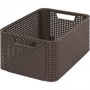 box úložný RATTAN 39x29x17cm (L), STYLE2, PH HN