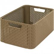 box úložný RATTAN 39x29x17cm (L), STYLE2, PH MOCCA tm.