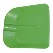 lopata uhelka 28x25cm PH bez násady, mix barev