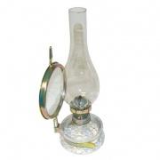 """lampa petrolejová s cylindrem 23/11"""" 35cm"""