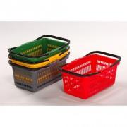 košík nákupní, 2 držadla 44x28x20cm PH ČRV, nosnost 10kg