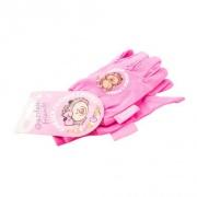 rukavice dětské 100% bavlna s elastickým zápěstím RŮŽ