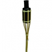 louč bambusová  60cm ČER