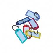 visačka na klíče 6,0cm PH velká s krouž.mix barev (50ks)