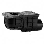 lapač střešních vod  boční DN 110mm PH ČER