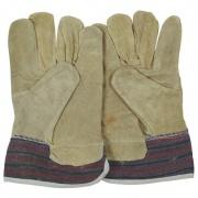 rukavice TOD tkanina/žlutá štípenka (12ks)