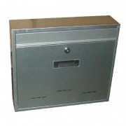 schránka poštovní RADIM V 360x310x90mm Zn