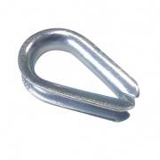 očnice lanová 3mm srdíčko  (10ks)