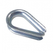 očnice lanová 5mm srdíčko  (10ks)
