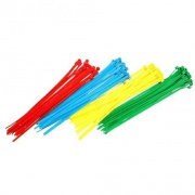 páska vázací 100x2,5mm mix barev (100ks)