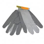 rukavice OLIE bavlna/PVC terčíky