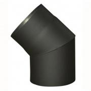 koleno kouřové 130mm/45st.t.1.5mm ČER