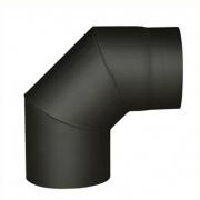 koleno kouřové 130mm/90st.t.1,5mm ČER