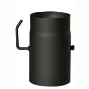 roura kouřová s klap.130mm/250 t.1,5mm ČER