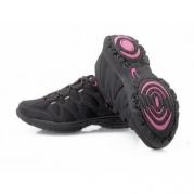 Sportovní obuv Fit Walk černo-fialové