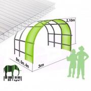 prodloužení ke skleníku 2DUM 2,1m