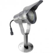 svítidlo LED 6,5W, 520lm, MR20, IP67, 3000K, Al ŠE + stínítko