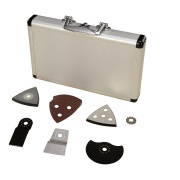 Scheppach 17-ti dílný set příslušenství k multifunkčnímu nástroji (aku set L1)