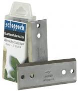 Scheppach nůž (sada 2ks)