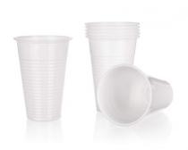 Kelímky plastové MY PARTY 200 ml, bílé, 12 ks