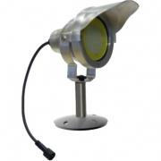 svítidlo LED 10W, 850lm, MR30, IP67, 3000K, Al ŠE + stínítko