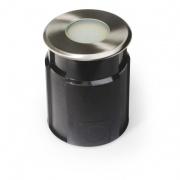 svítidlo LED zápustné pr.11cm, 4,0W, IP67 teplé, do země, betonu
