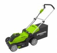 Greenworks G40LM41-aku 40 V travní sekačka 40 cm