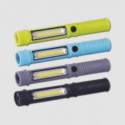 Svítilna plastová COB LED 3W+1LED, 3xAAA