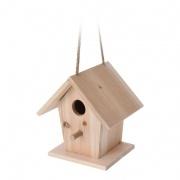 budka ptačí zahnizďovací 16x14x17cm dřevěná