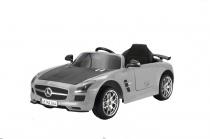 MERCEDES BENZ SLS-AMG GREY - akumulátorové autíčko - vozítko