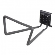 hák dvojitý trojúhelník 18x10x25,7cm BlackHook závěs.systém G21