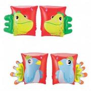 32115 Nafukovací rukávky zvířátko 23 x 15 cm papoušek