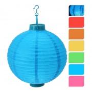 osvětlení LAMPION pr.20cm 1LED papír mix barev (1ks)