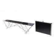 stůl skládací 300x60x77cm kov+MDF deska