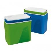 lednice KRIOS chladicí 23l  39x40x23cm, 2 víka (el.+ klasické), mix barev