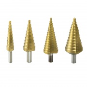 DEDRA Stupňovitý vrták HSS/TiN 6-38mm do kovu a plastu WMST0638