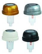víčko solární náhradní pr. 72mm pro hřbit.sol.lampu mix barev