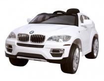 BMW X6 - WHITE - akumulátorové autíčko - vozítko