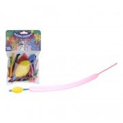 balónky PÁRTY tvarovací mix barev (10ks) s pumpičkou