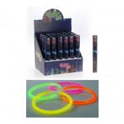 tyčinky svítící 22cm mix barev (15ks)