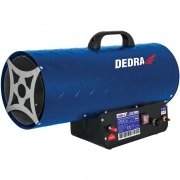 DEDRA ohřívač plynový 30-50kW, 650m3/h, DED9945