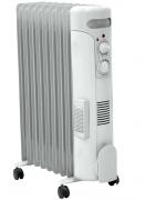 DEDRA olejový radiátor 2500W, ventilátor 500W DA-J2050F