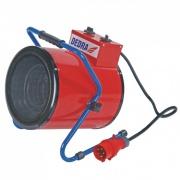 DEDRA průmyslový přímotop s ventilátorem 5kW 400V DED9933