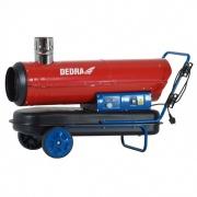 DEDRA Naftové topidlo 30 kW DED9955TK s vývodem spalin a termostatem