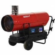 DEDRA Naftové topidlo 50 kW DED9956TK s vývodem spalin a termostatem