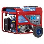 DEDRA Benzínová elektrocentrála 5000 W DEGB6500K